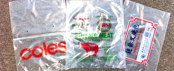 Non Printed or Printed Clear Plastic Bags